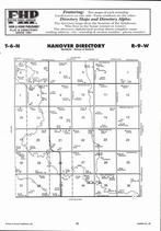 Hanover Township, Pawnee Creek, Blue River, Directory Map, Adams County 2007